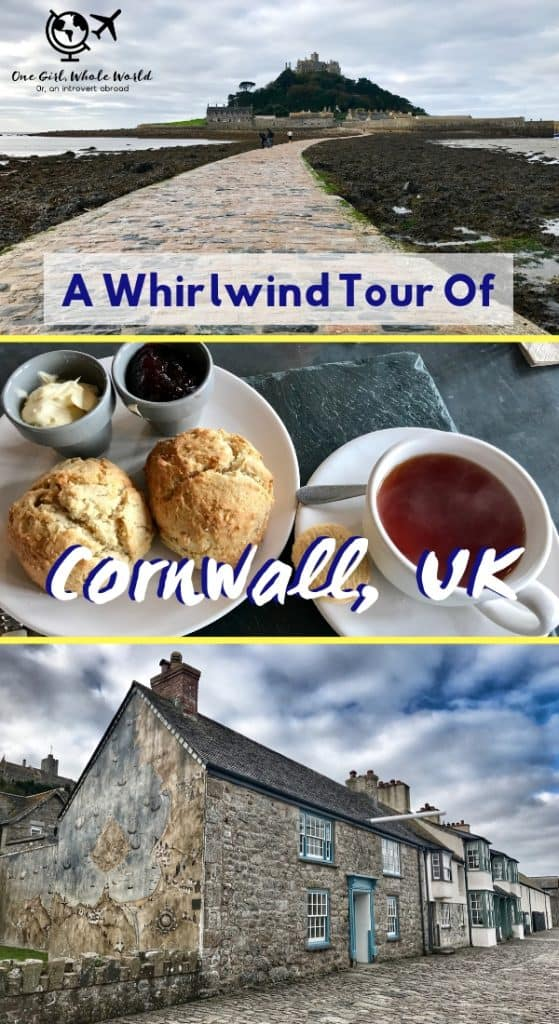 Visiting St. Michael's Mount and a Whirlwind Tour of Cornwall, UK | if you're in the south of England, you need to explore Cornwall and visit the awesome tidal island of St. Michael's Mount! What to do in Cornwall #cornwall #uk #stmichaelsmount #england