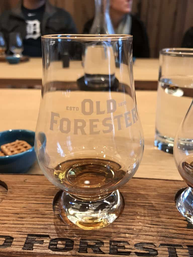 Visiting Old Forester Distillery in Louisville, Kentucky on the Urban Bourbon Trail