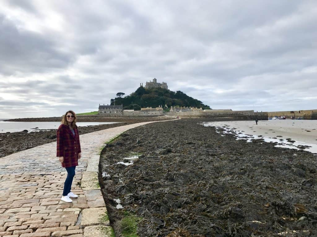 A whirlwind tour of Cornwall, UK, and how to visit St. Michael's Mount - walking across the causeway