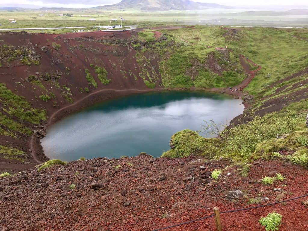Why Kerid Crater is a must on your Iceland Golden Circle itinerary | how to visit this gorgeous volcanic crater, what to do on the Golden Circle, Iceland road trip ideas | One Girl, Whole World