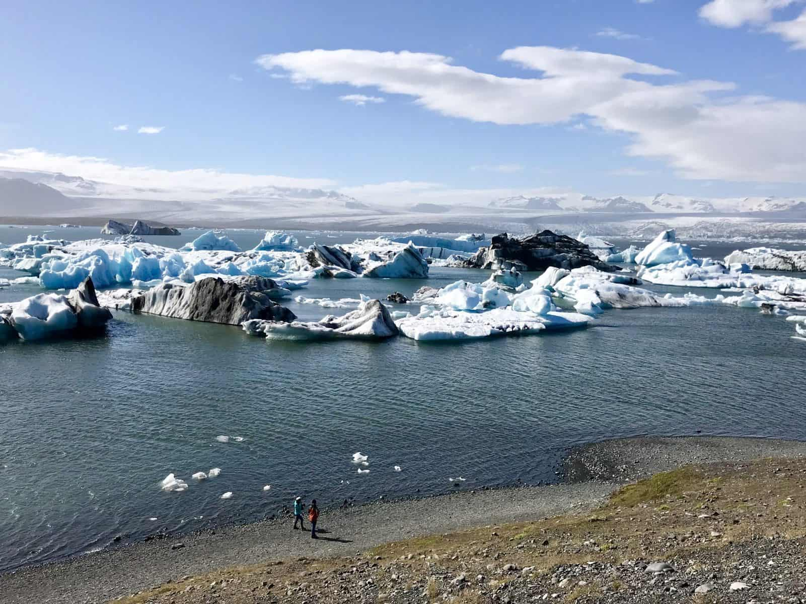 What to do in Iceland in summer - if you have 3-4 days, getting out to Jokusarlon Glacier Lagoon is a must