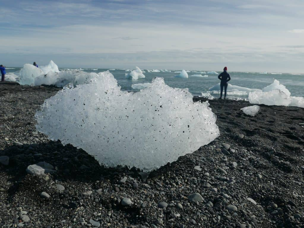 What it's like to visit Jokusarlon Glacier Lagoon and Diamond Beach in Iceland