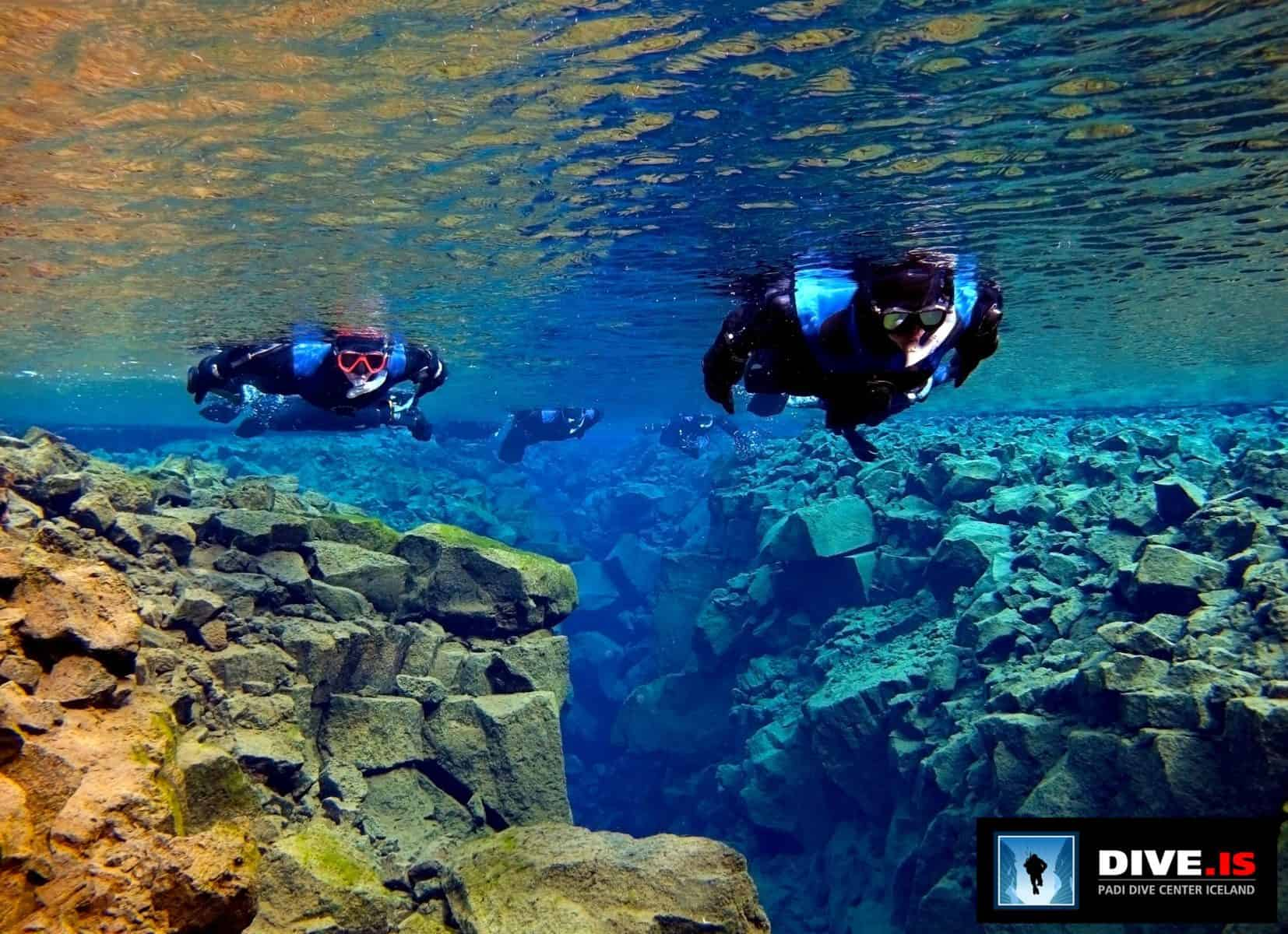 What to do in Iceland in summer - snorkeling in the Silfra Fissure is a pure bucket list item