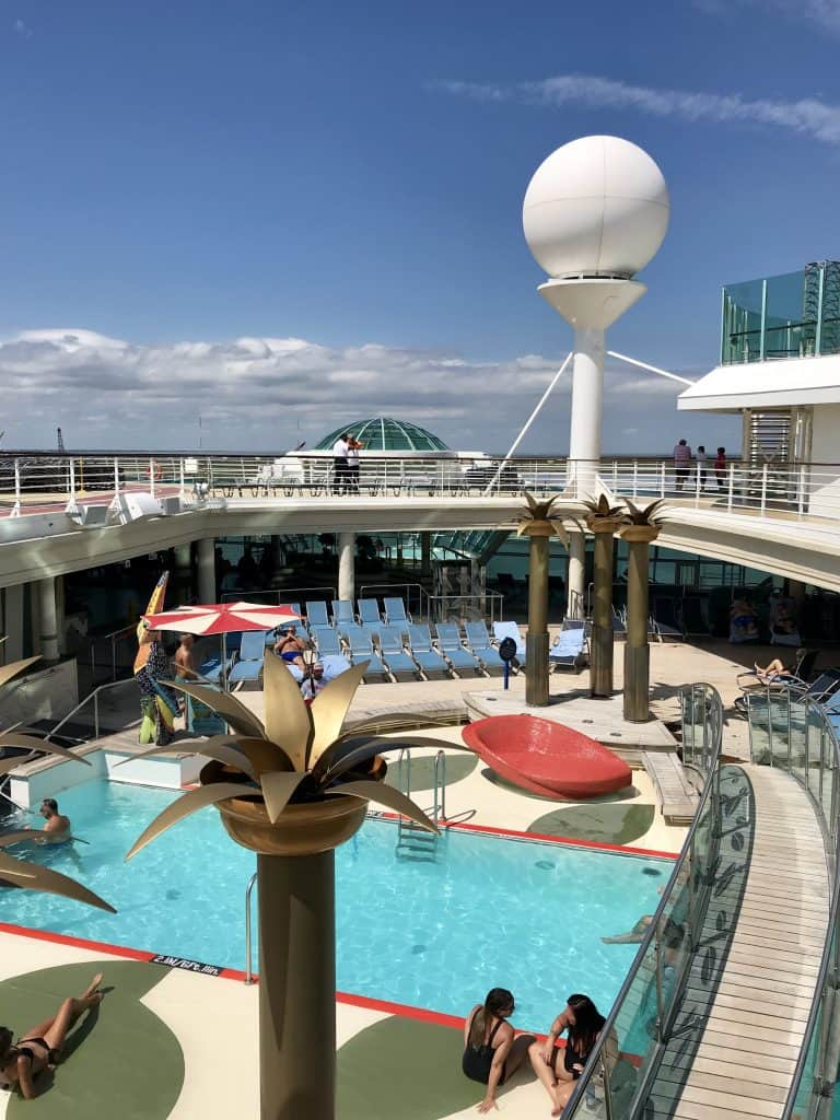 adult only pool area on liberty of the seas