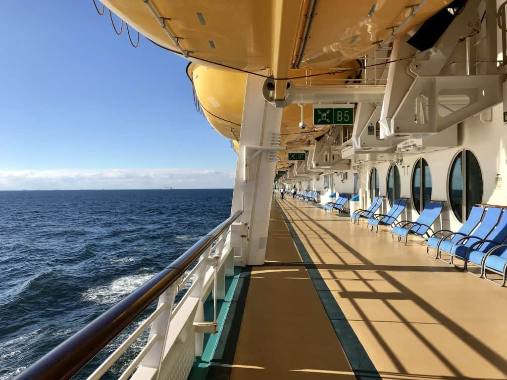 liberty of the seas review, ship decks