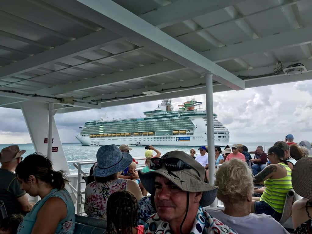 tendering from liberty of the seas to belize city