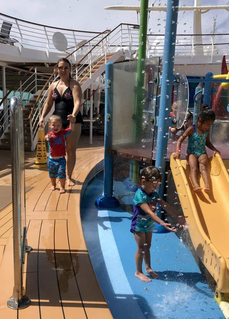 kids pool splash area on liberty of the seas