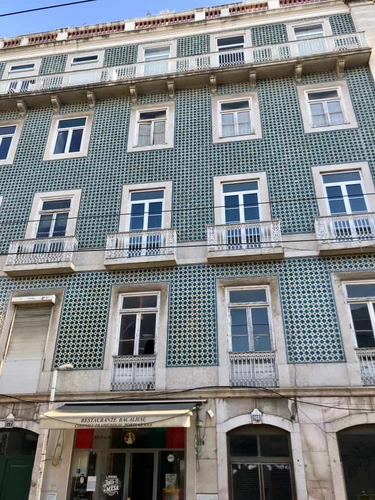 The colorful tiles of Lisbon, Portugal