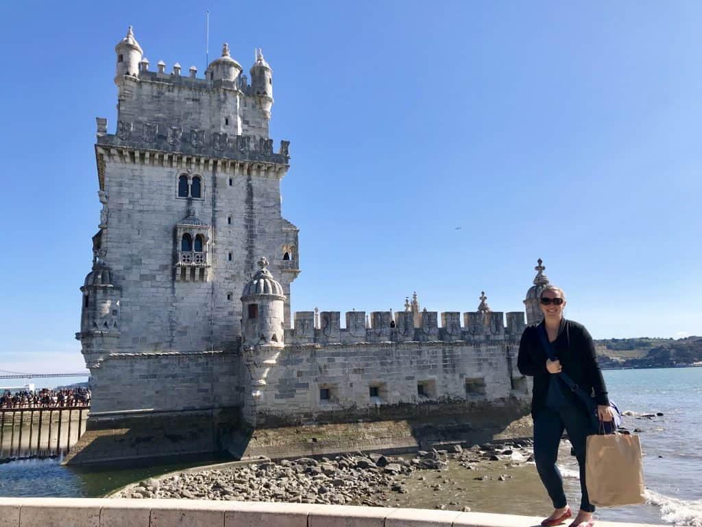 Torre de Belem is a UNESCO world heritage site - what to see in Lisbon, Portugal