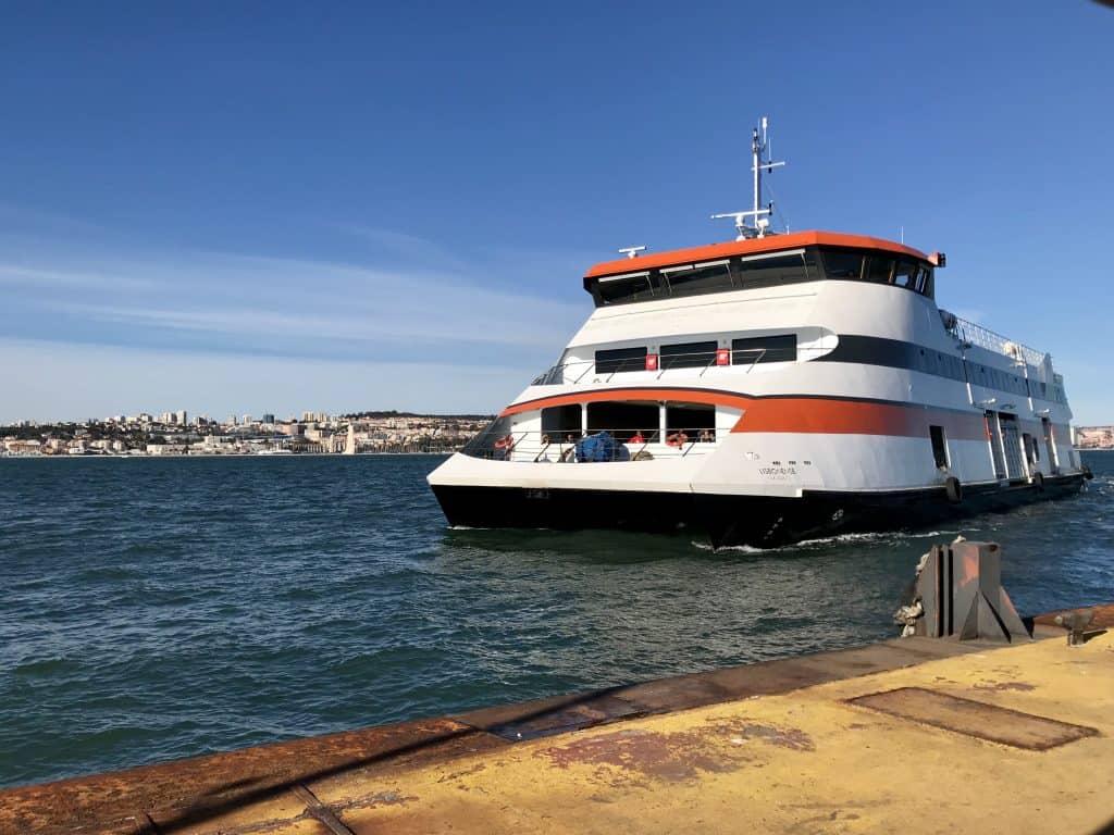 Ferry in Lisbon, Portugal