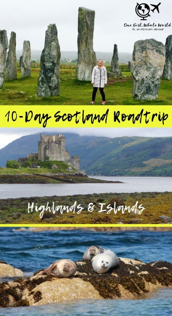 The perfect 10 day Scotland itinerary...an amazing roadtrip