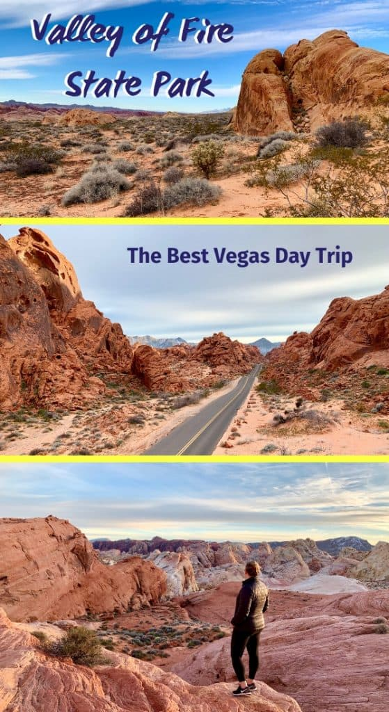 Valley of Fire State Park, the Best Vegas Day Trip | I show you why Nevada's Valley of Fire is the best day trip from Vegas you can take. Gorgeous scenery, an easy hour's drive away, and you can see the park in just a couple hours or a full day! #statepark #scenery #daytrip #lasvegas #vegas #valleyoffire #nevada