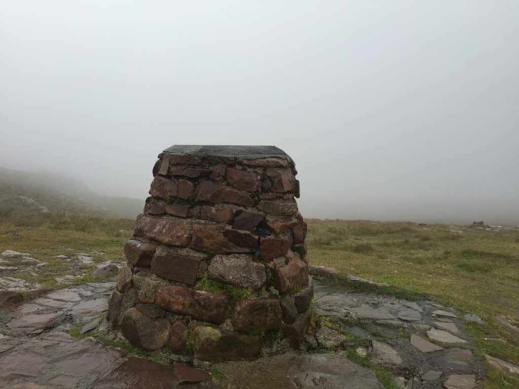 The summit of Bealach na Ba