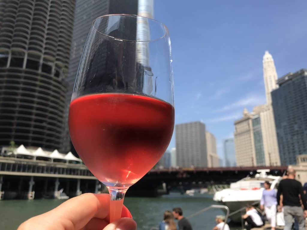 Where to drink in Chicago...City Winery on the Riverwalk is a must in good weather