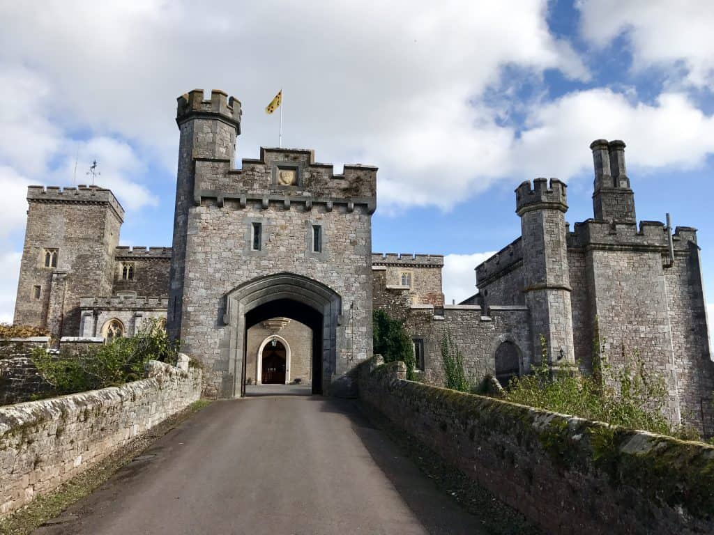 Powderham Castle, in Devon