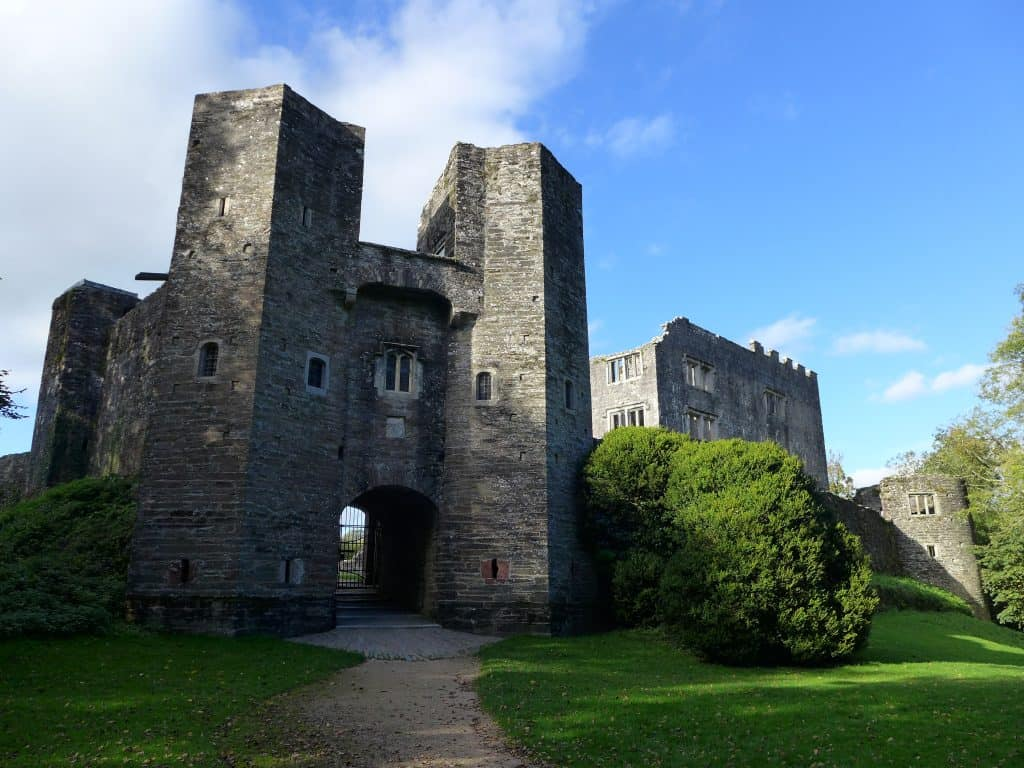 Berry Pomeroy Castle in Totnes, England