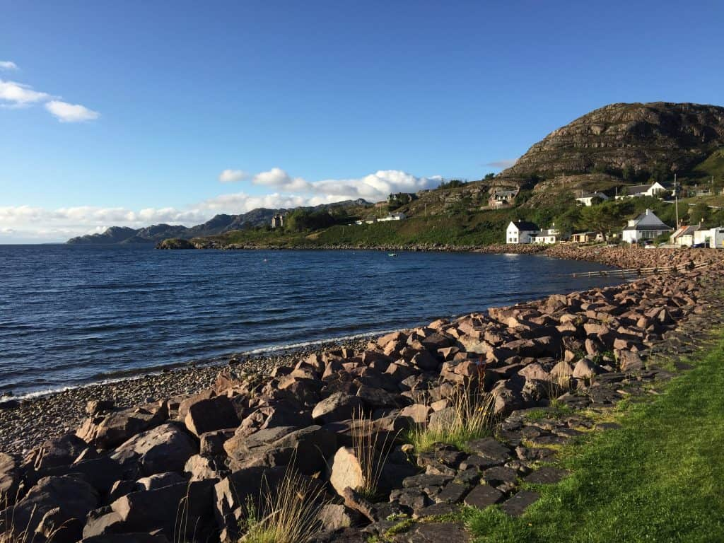 Shieldaig, Scotland in the Highlands