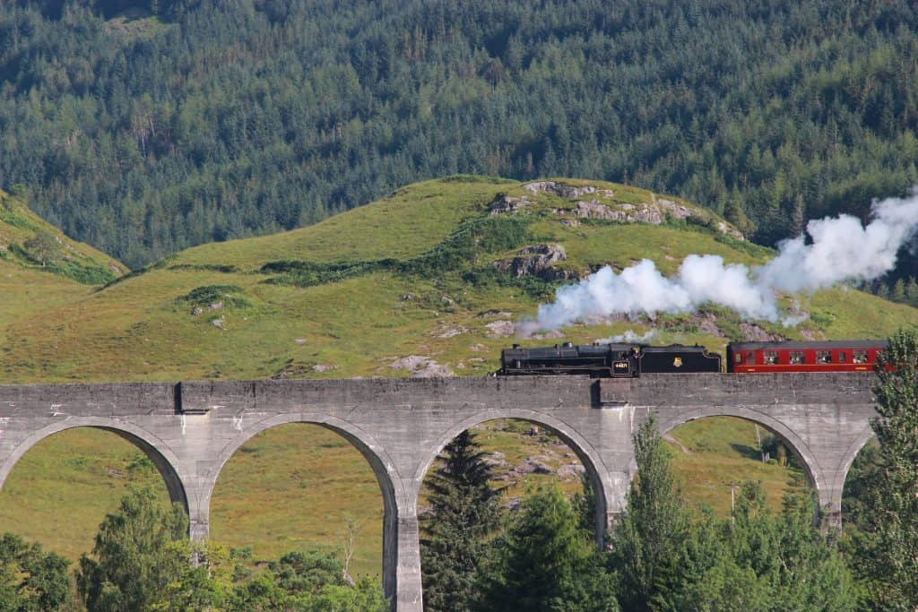 The Jacobite Train aka Hogwarts Express