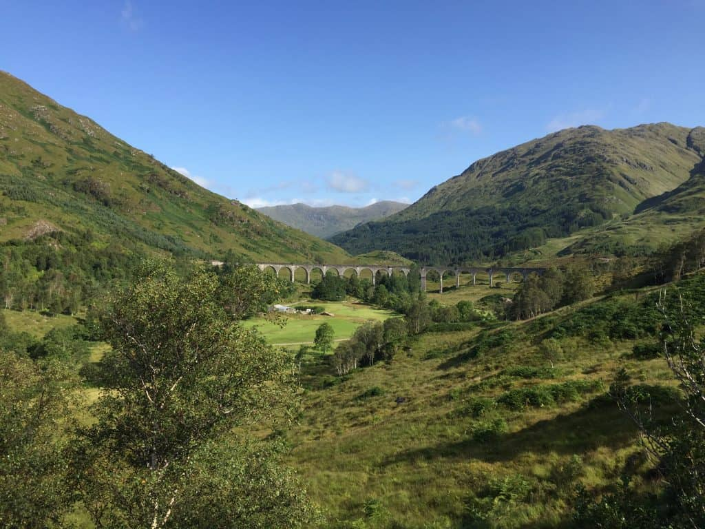Glenfinnan Viaduct from afar