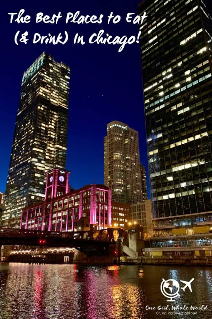 Where to Eat & Drink in Chicago (Illinois, USA) | Restaurants in Chicago you have to try, from the best pastries, coffee, brunch, and breakfast, to the best lunch and dinner in Chicago. Where to drink in Chicago, the best cocktail bars! USA travel tips, Chicago itinerary ideas, what to do in the Windy City. #chicago #foodie