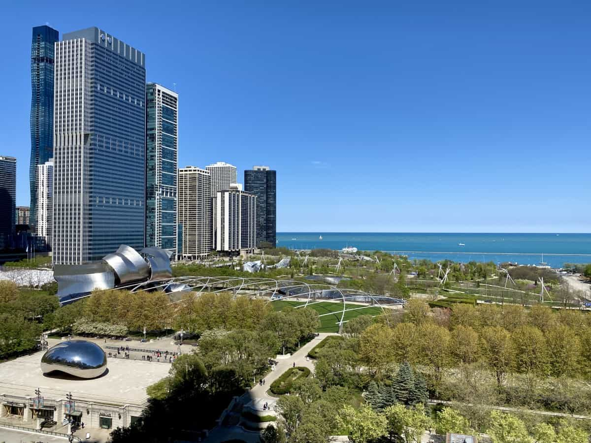 The views from Cindy's Rooftop - where to eat in Chicago (& where to drink as well)