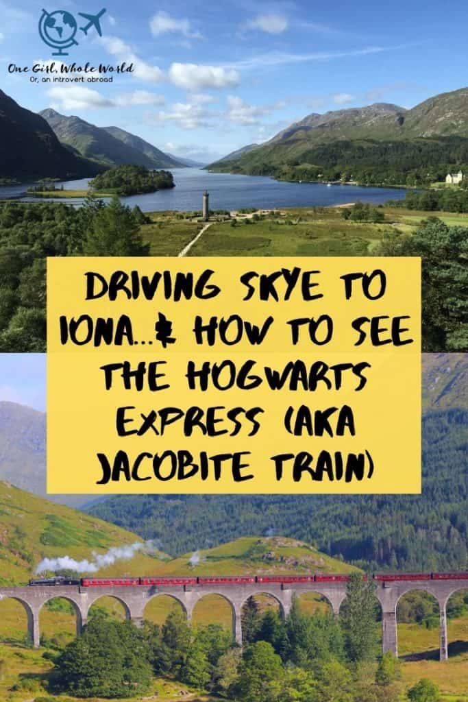 Pinnable image for how to see the Jacobite Train cross the Glenfinnan Viaduct