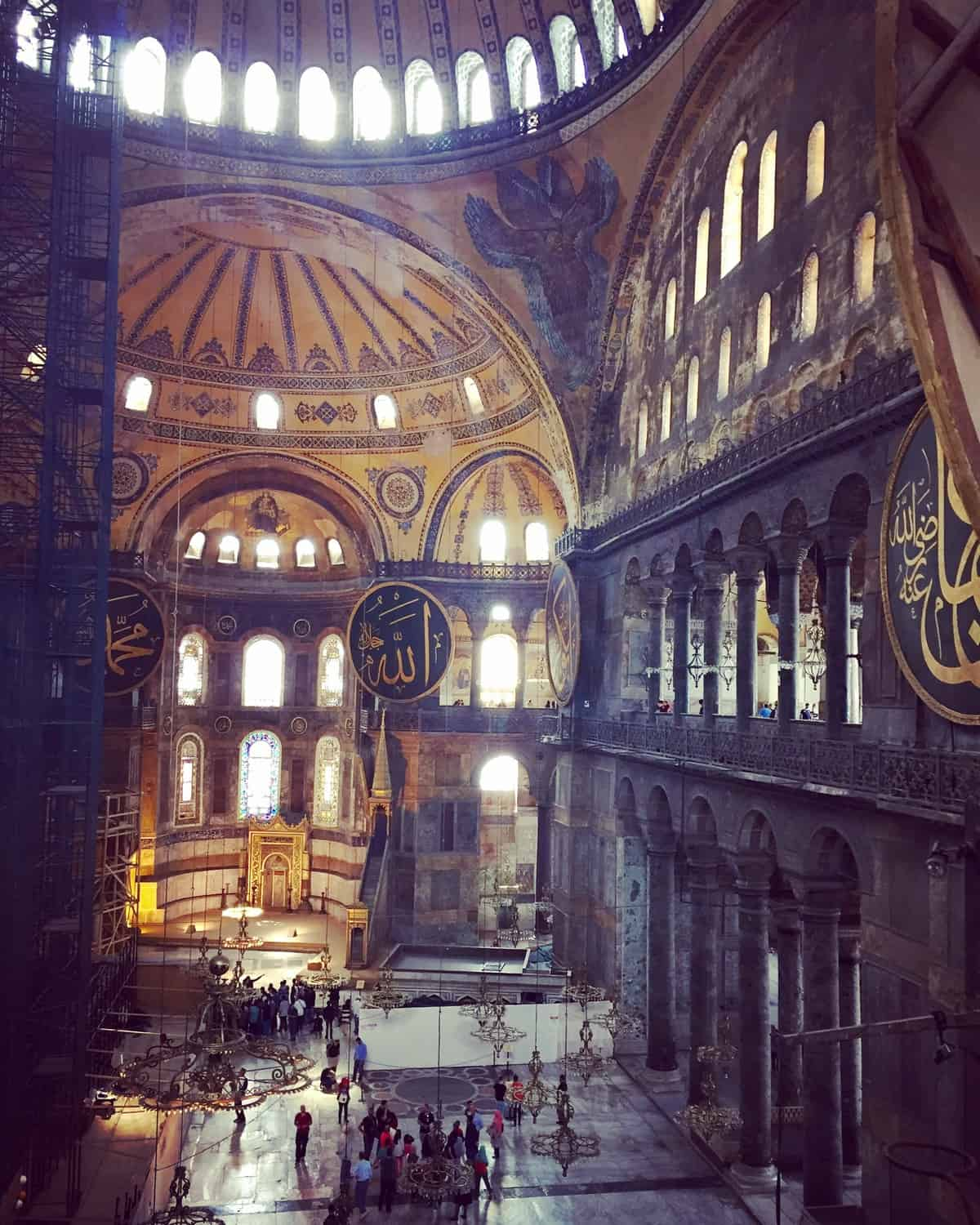 Planning a 7-day Turkey itinerary (or 10-day) - Hagia Sofia in Istanbul