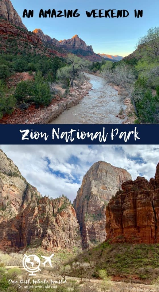 Itinerary for 2 days in Zion National Park