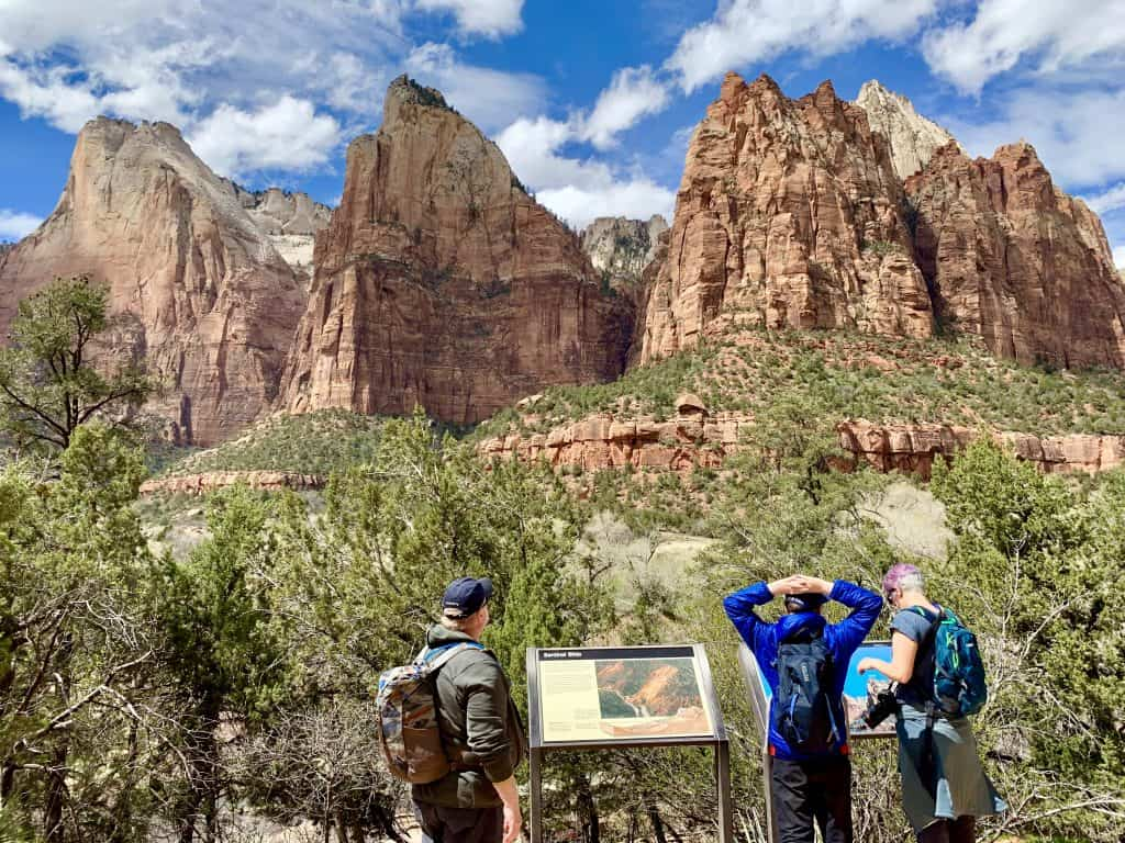 What to do with 2 days in Zion National Park...Court of the Patriarchs hike