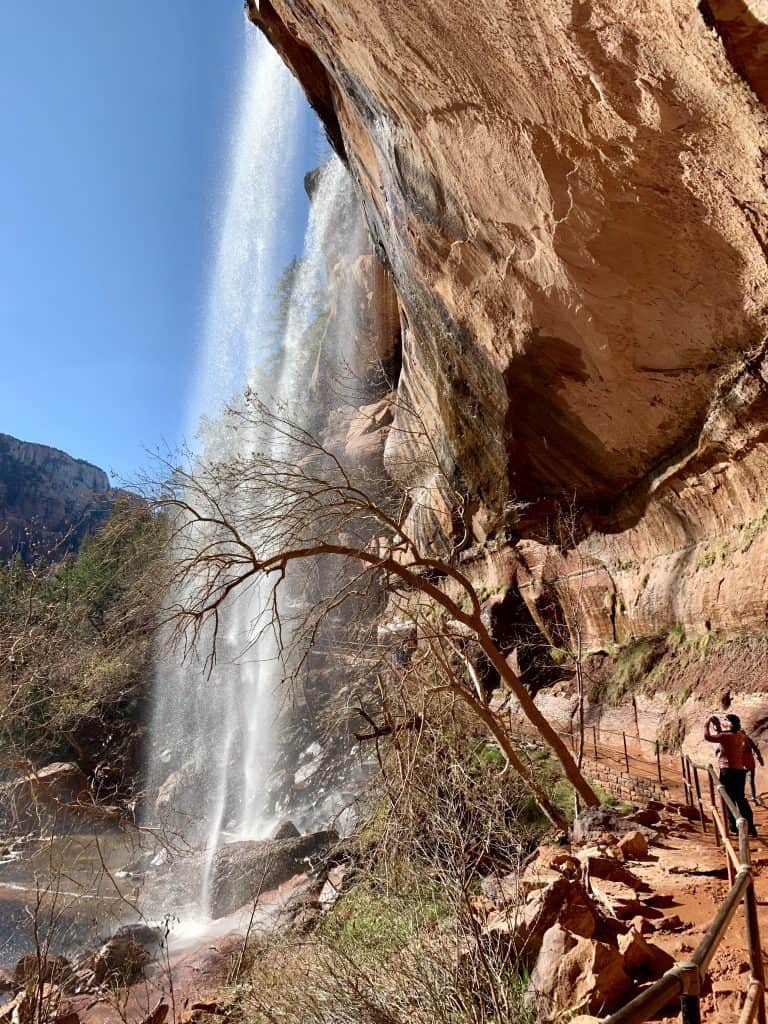 Lower Emerald Falls...and easy hike in Zion if you only have a couple days