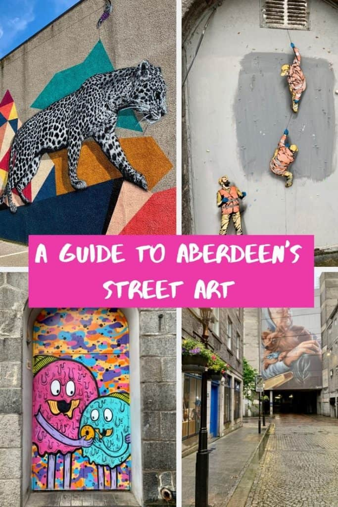 A guide to Aberdeen Street Art Pinterest image