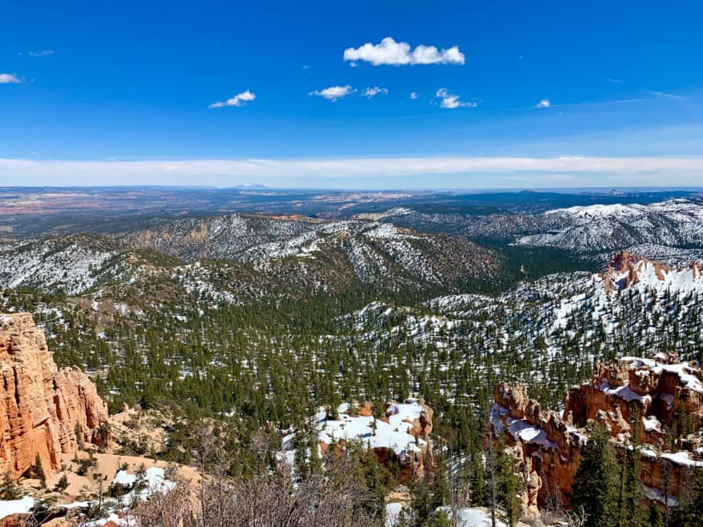 Farview Point in Bryce Canyon National Park