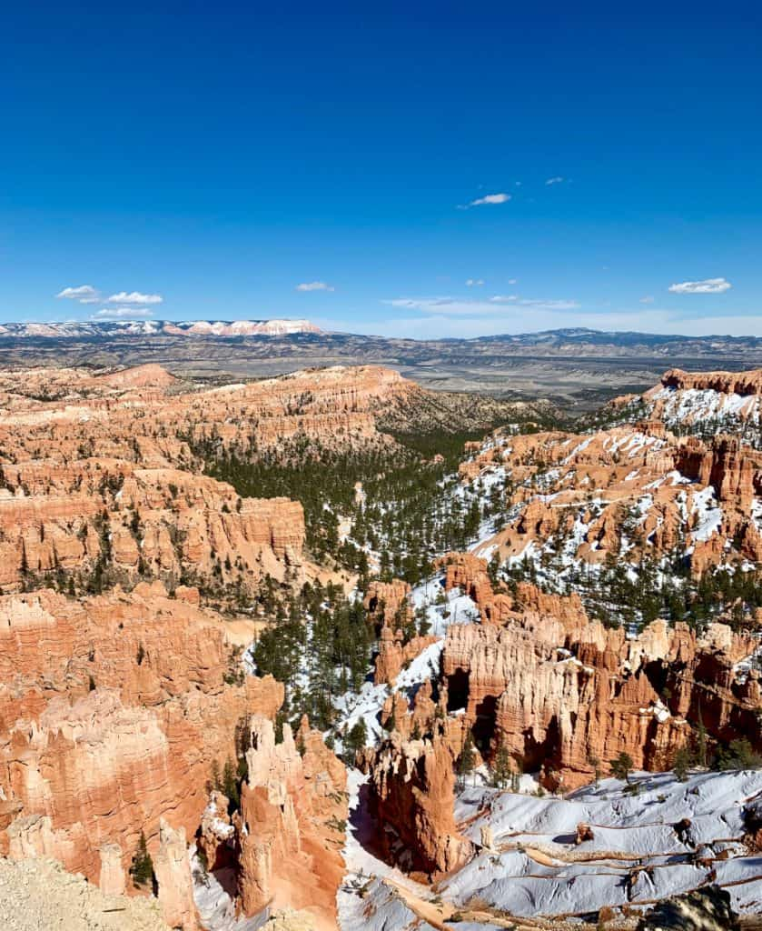 The views at Bryce Canyon are gorgeous!