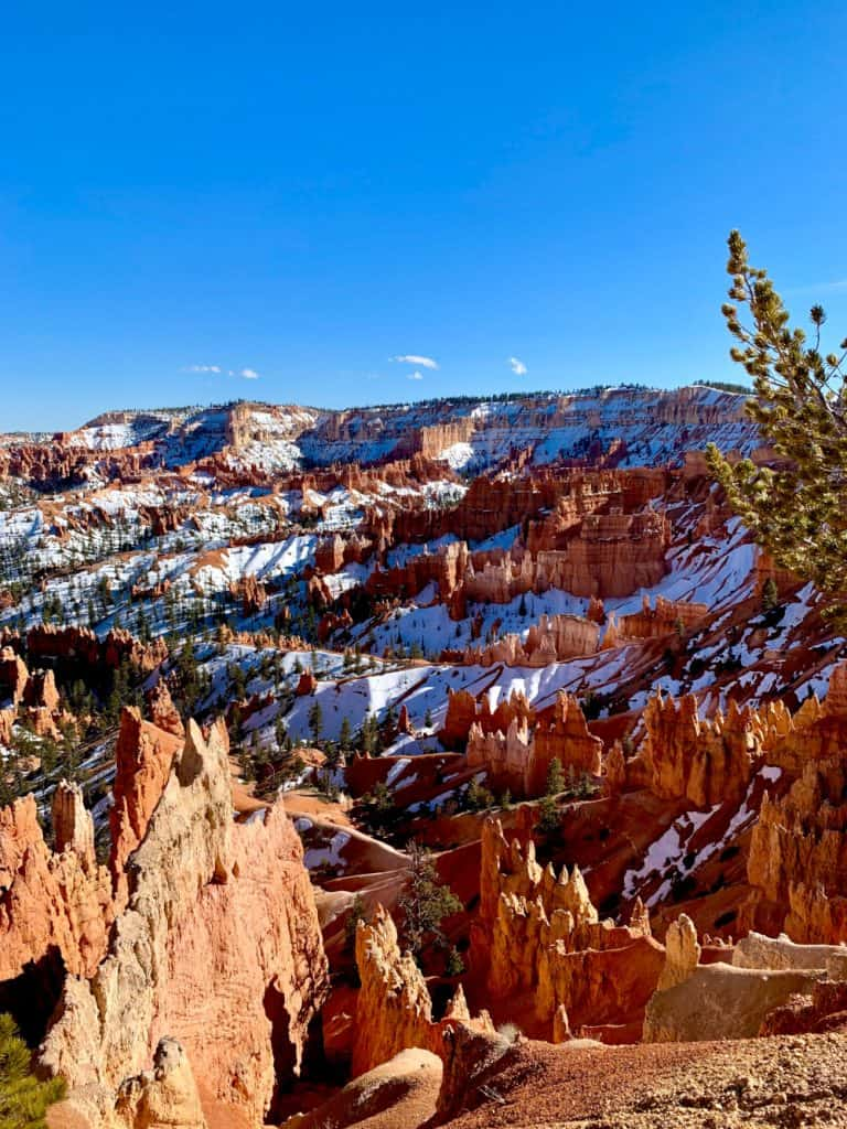 The views at Sunset Point in Bryce Canyon
