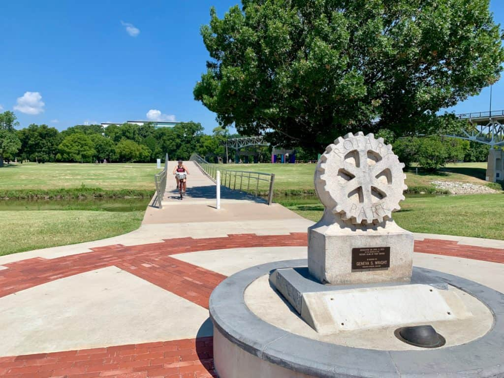 Things to do in downtown Fort Worth, TX...more off-the-beaten-path ideas | Walk, run, or bike on Trinity Trails