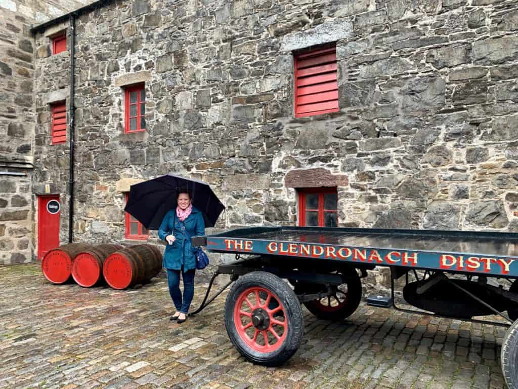 Glendronach Distillery, a beautiful distillery in the Highlands...visiting distilleries in Scotland