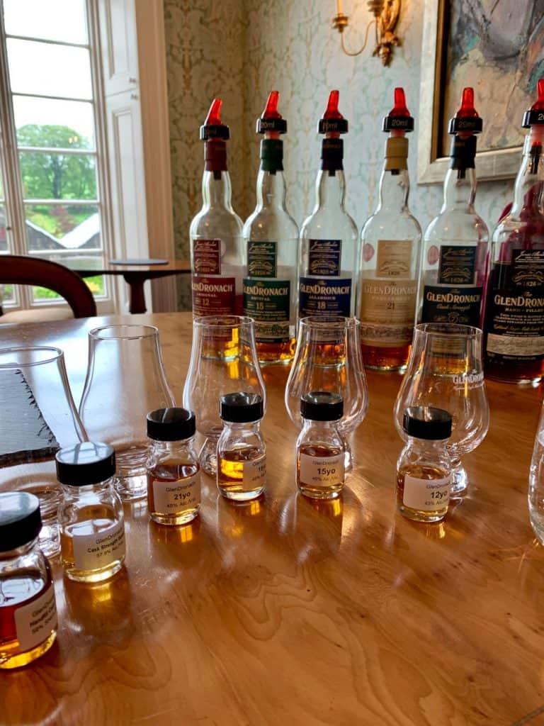Scotch Distilleries to Visit in Scotland...Glendronach was great