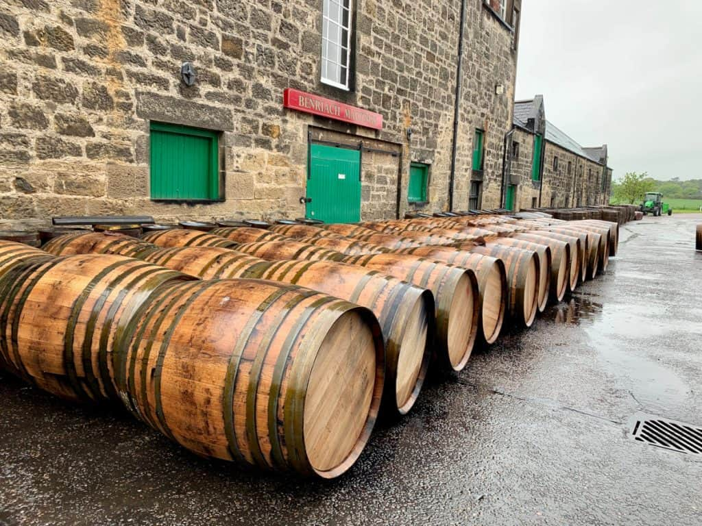 Visiting distilleries in Scotland...a rainy afternoon at BenRiach