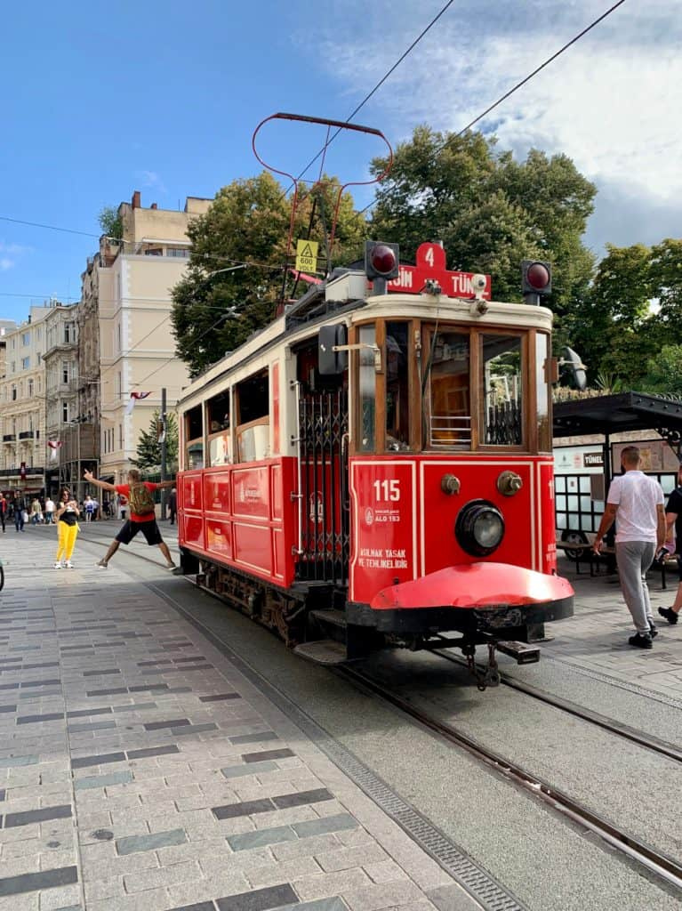 exploring istiklal street - best coffee shops in Istanbul