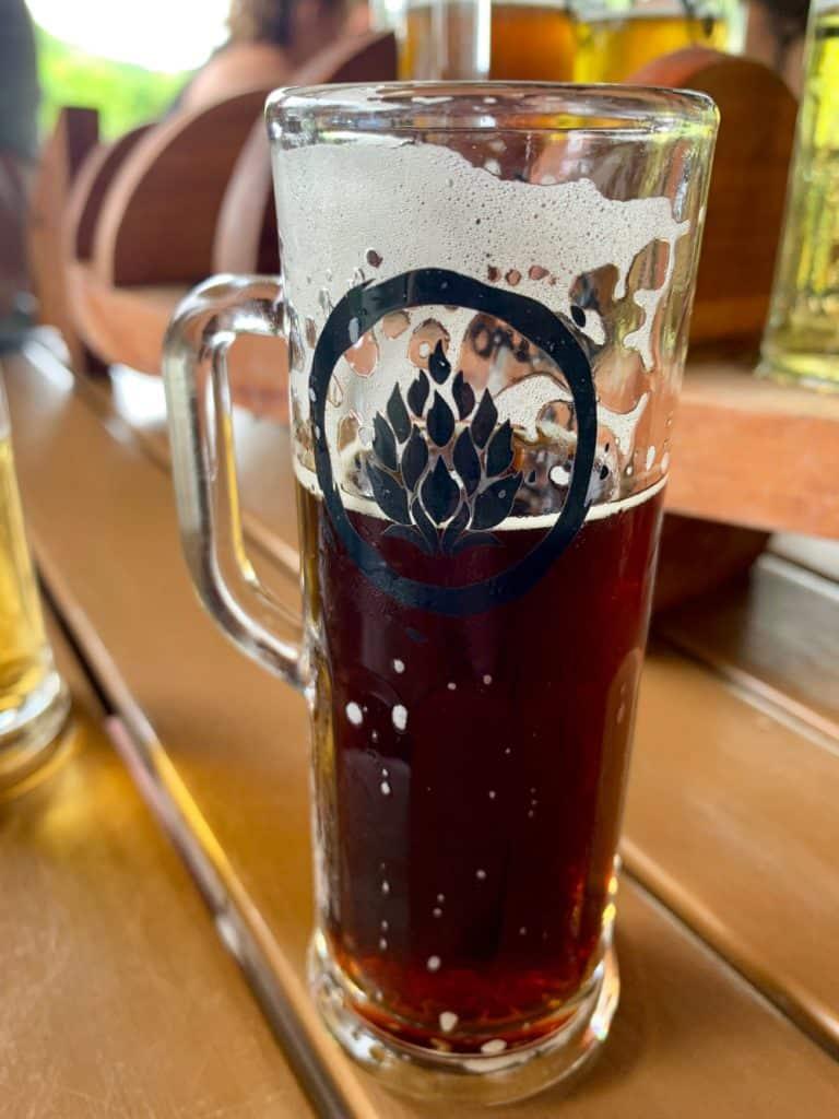 Fuego Brewery's yummy espresso porter