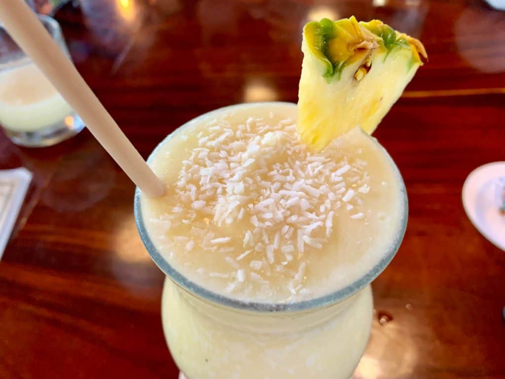 the pina colada at Fuego Brewery is amazing