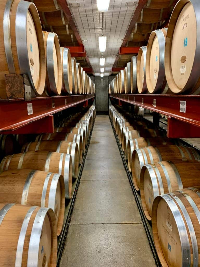 You'll never get tired of barrels when visiting Sonoma Valley wineries