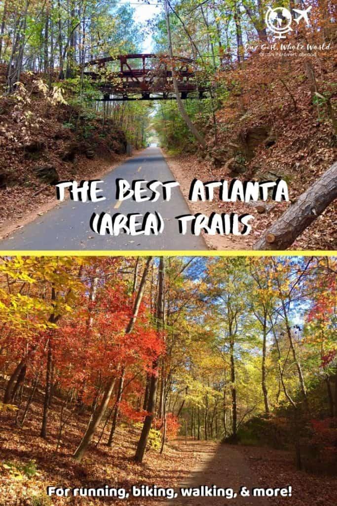 The Best Atlanta Trails - Pinterest image