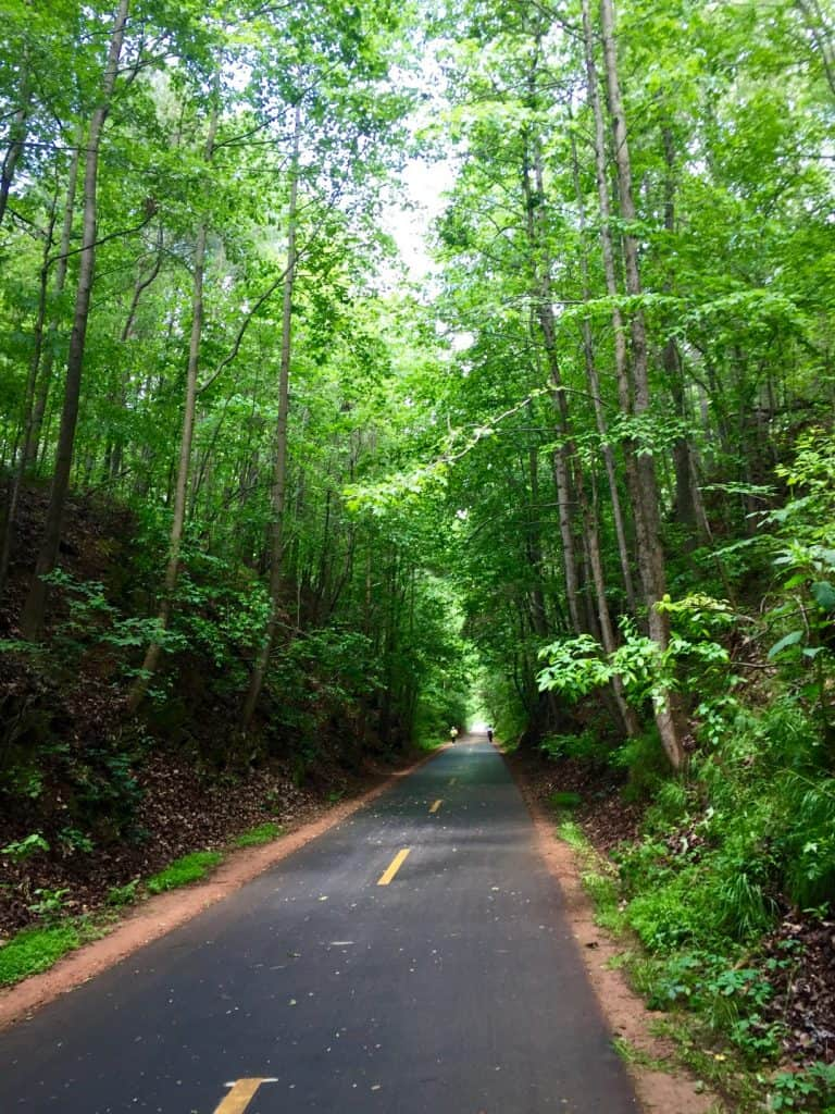 Silver Comet Trail is accessible year round, one of the best Atlanta trails