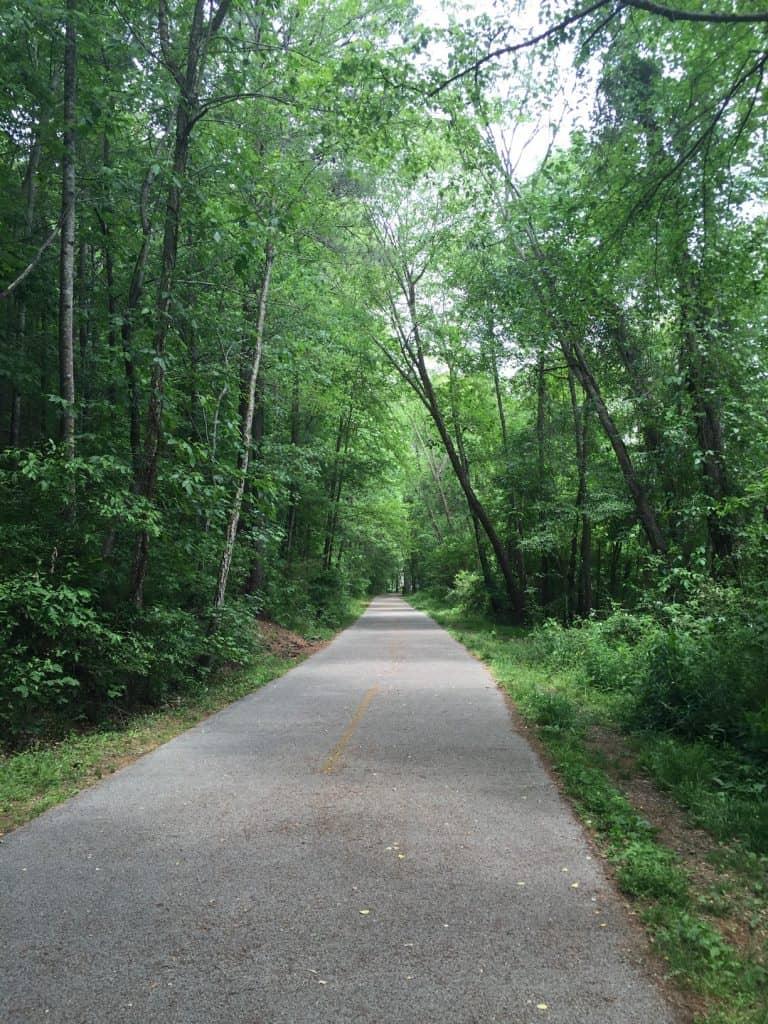 Atlanta running trails - Rottenwood Creek