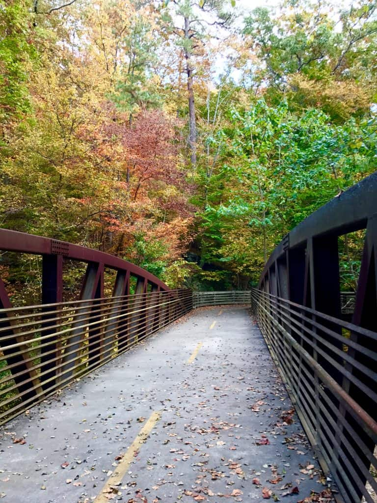 My favorite Atlanta trails, including Atlanta running trails, nature, hiking, and more!