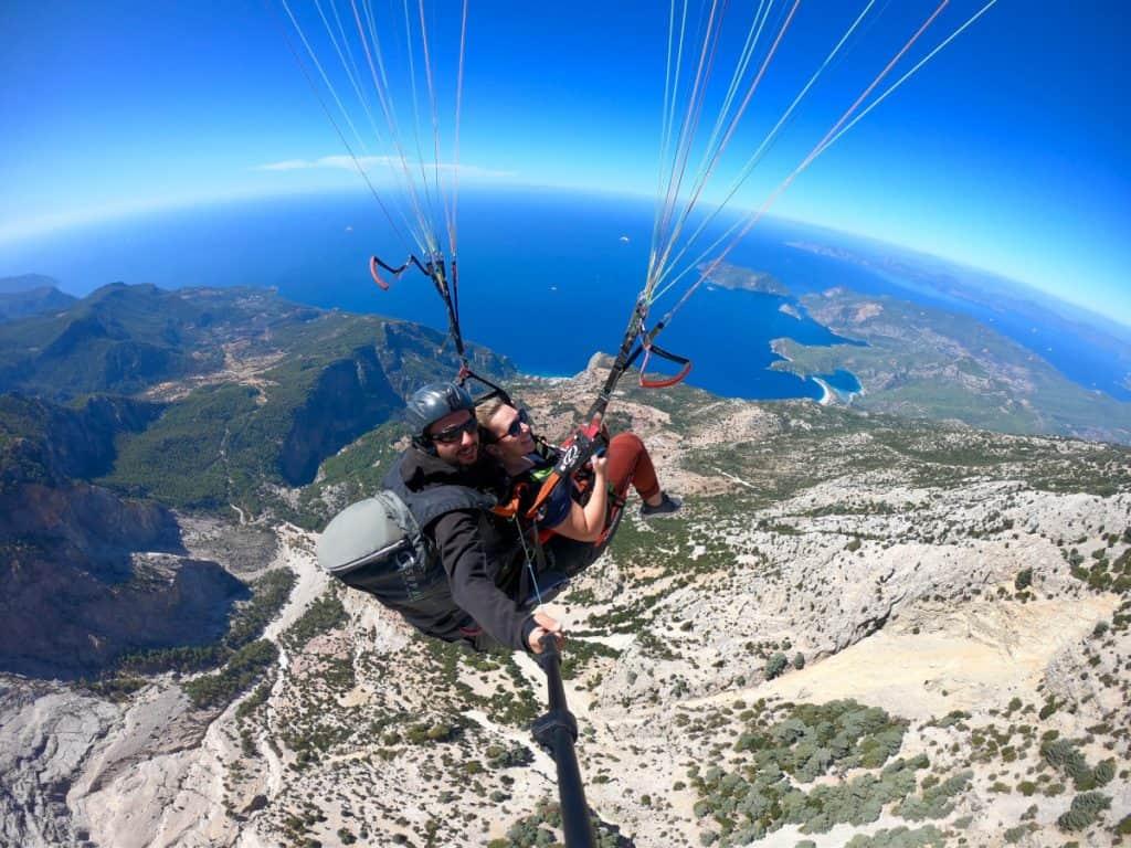 The views over Oludeniz paragliding are amazing!