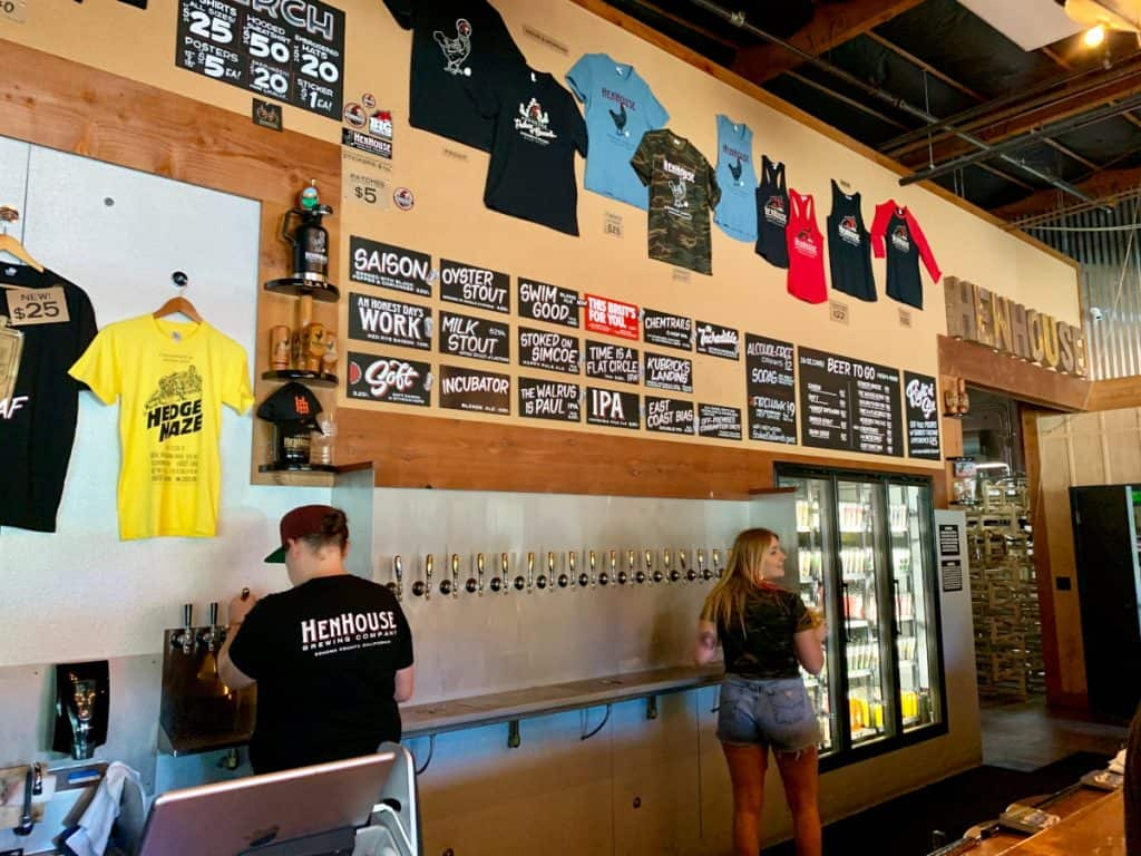 Where to drink in Sonoma County if you don't want wine - Henhouse Brewery