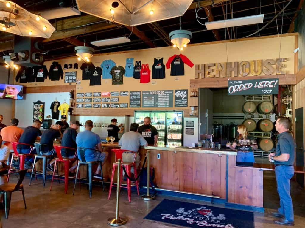One of the Sonoma County breweries you need to visit is Henhouse in Petaluma