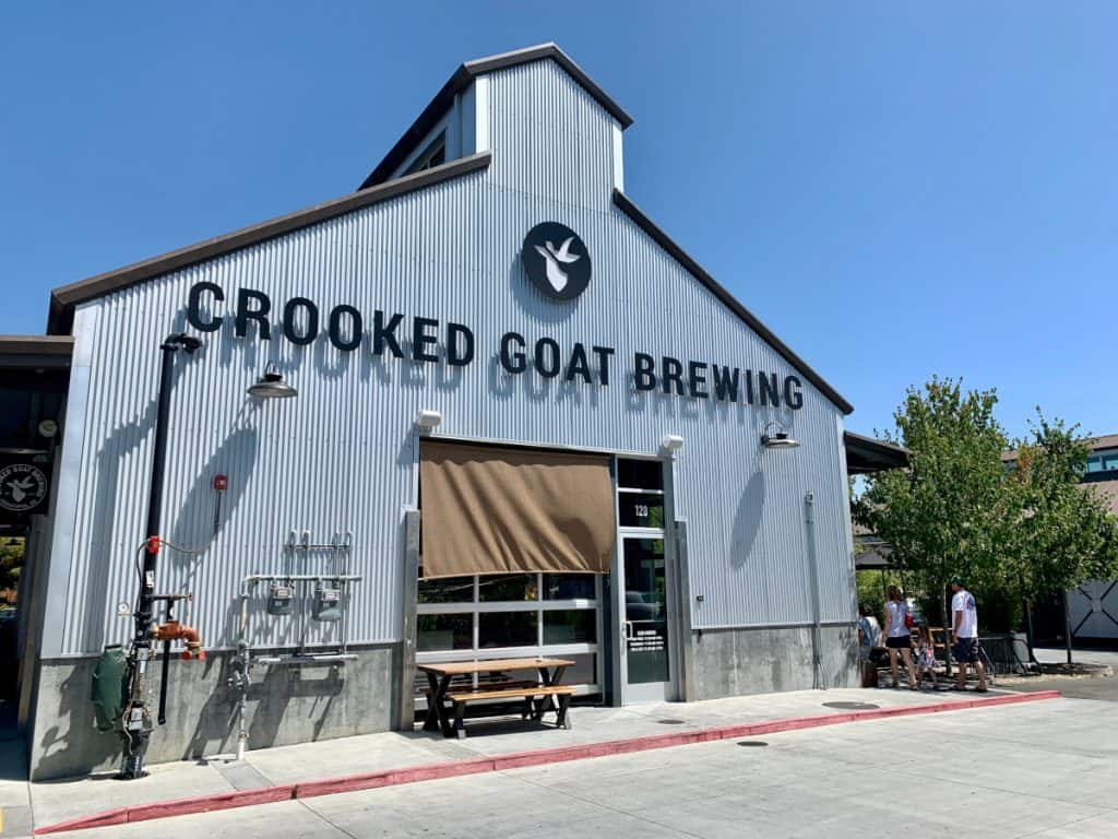 Crooked Goat Brewing - one of the Sonoma County breweries you have to try